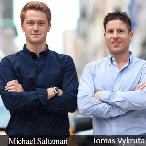 Michael Saltzman, Co-Founder & COO and Tomas Vykruta, Co-Founder & CEO, DeepFraud