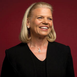 Ginni Rometty, Chairman, President & CEO, IBM