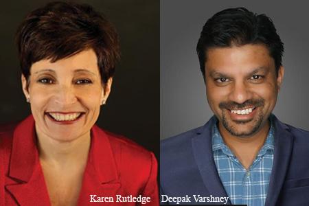 Karen Rutledge, Product Liaison and Deepak Varshney, SVP, Product Management, Marsh ClearSight