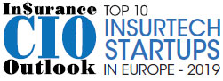 Top 10 Insurtech Startups Companies in Europe - 2019
