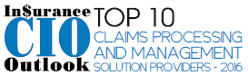 Top 10 Claims Processing and Management Solution Companies - 2016